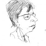 Victor Constantin - caricatura